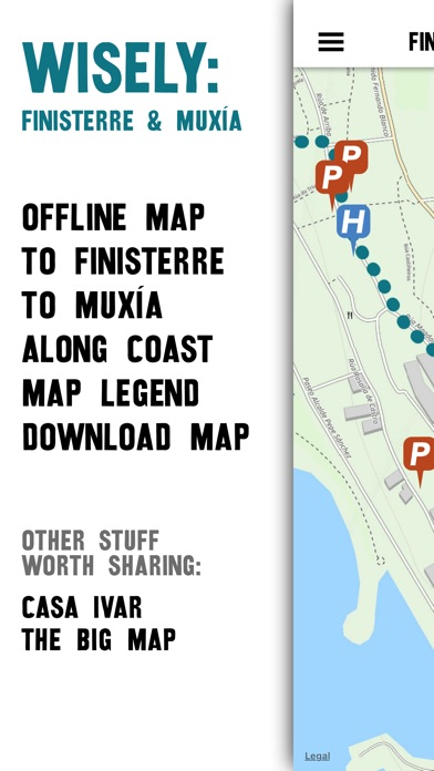 Wisely : Finisterre & Muxía Screenshot 1