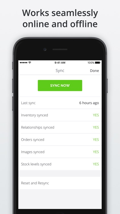 TradeGecko Mobile - Sales app screenshot-4