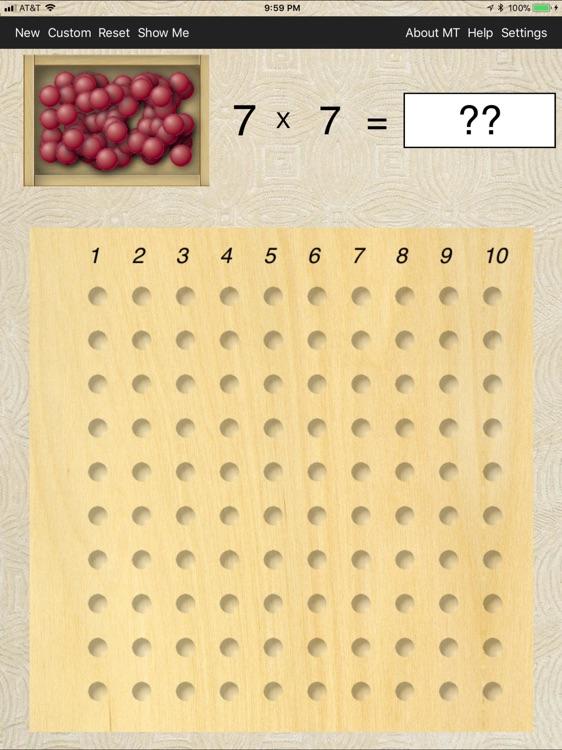 Montessori Multiplication screenshot-3