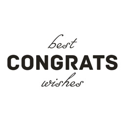 Animated Congrats Stickers