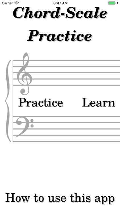 Chord-Scale Practice