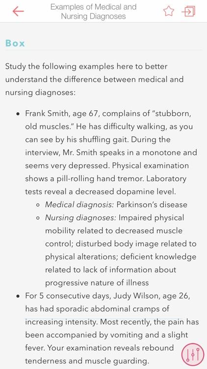 Sparks & Taylor's Nursing Dx screenshot-3