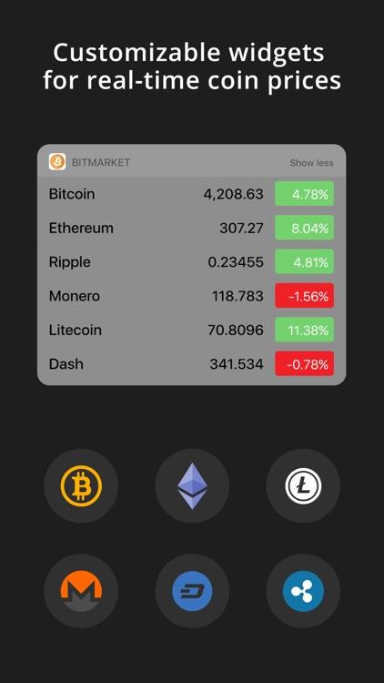 BitMarket - Bitcoin Prices screenshot-3
