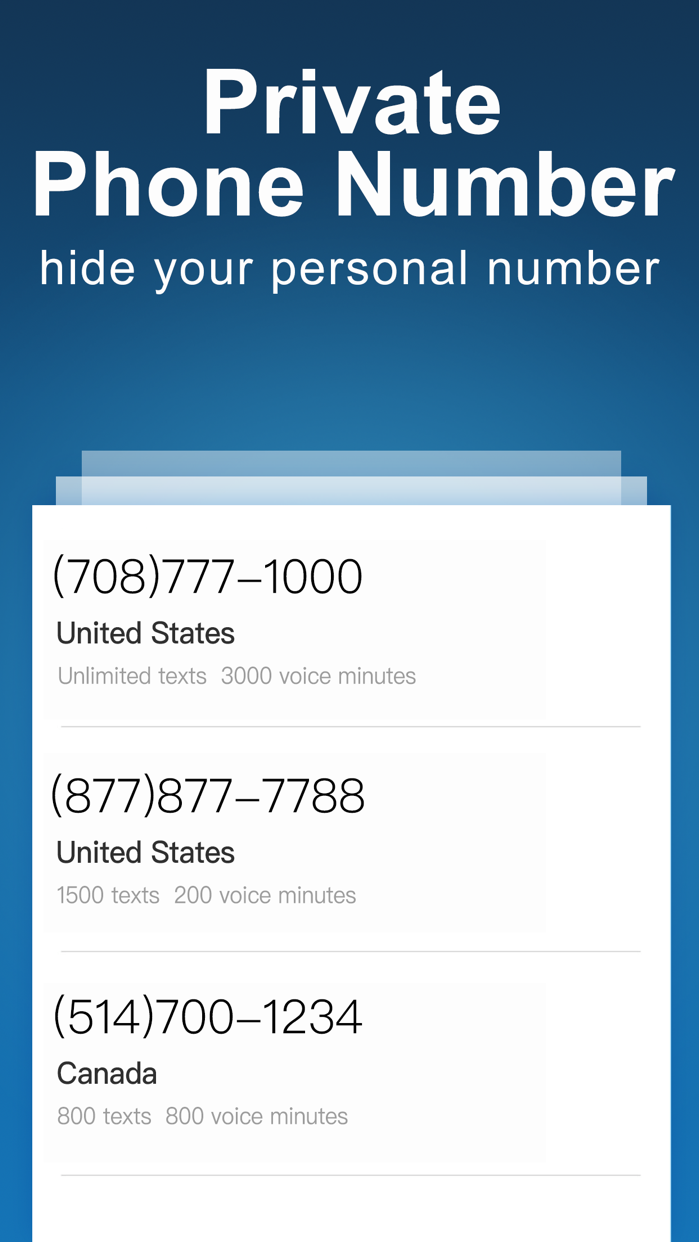 CoverMe Private Text & Call Screenshot