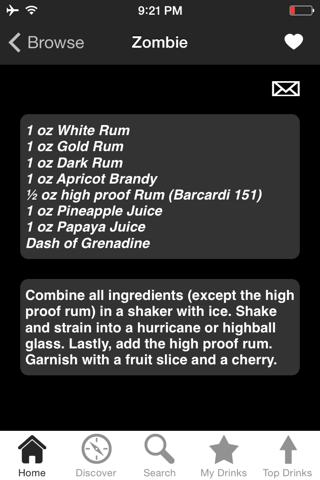iBartender Cocktail Recipes - náhled