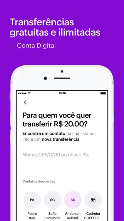 Nubank - Conta e Cartão screenshot-3