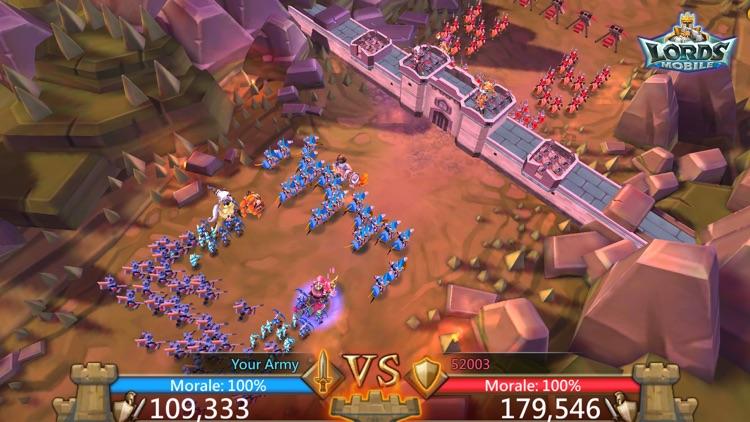 Lords Mobile: War Kingdom screenshot-4