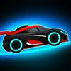 Tiny Lab Productions - Neon Rider Drives Sports Car artwork