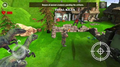 T Rex Dino Hunter Mission 2018 Screenshot on iOS