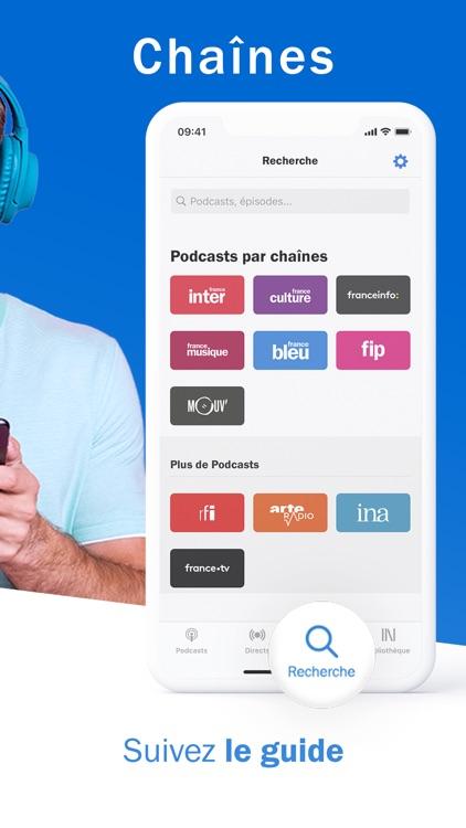 Radio France - radio, podcast screenshot-4
