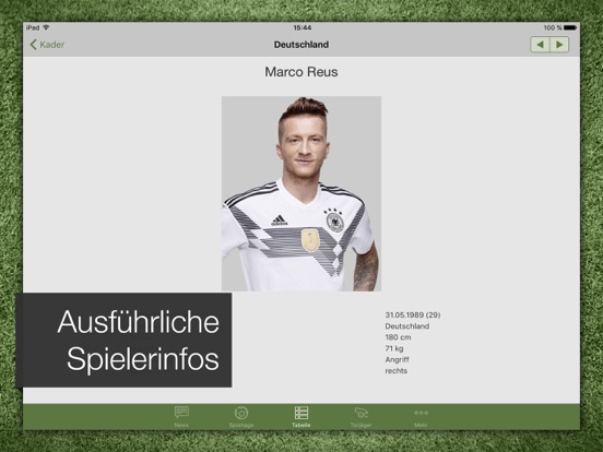 Pocket Liga - Fussball Live-ipad-4