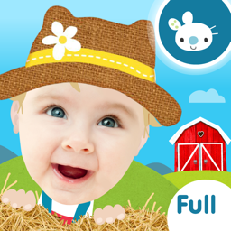Ícone do app Peek a Boo Farm Animals Sounds