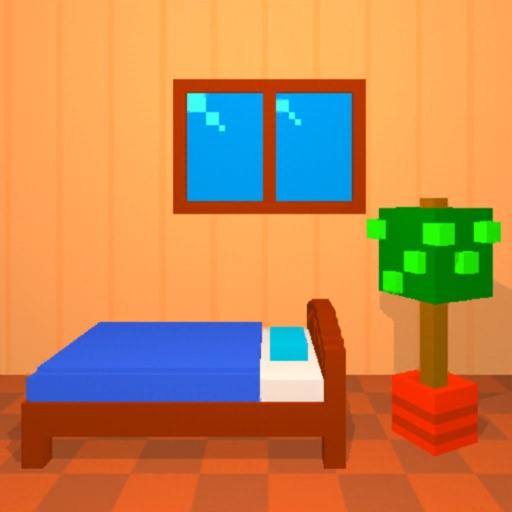 ボクセル脱出ゲーム1:小人のいる部屋