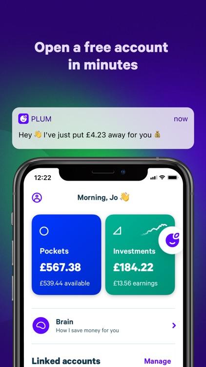 Plum - Save Money and Invest screenshot-0