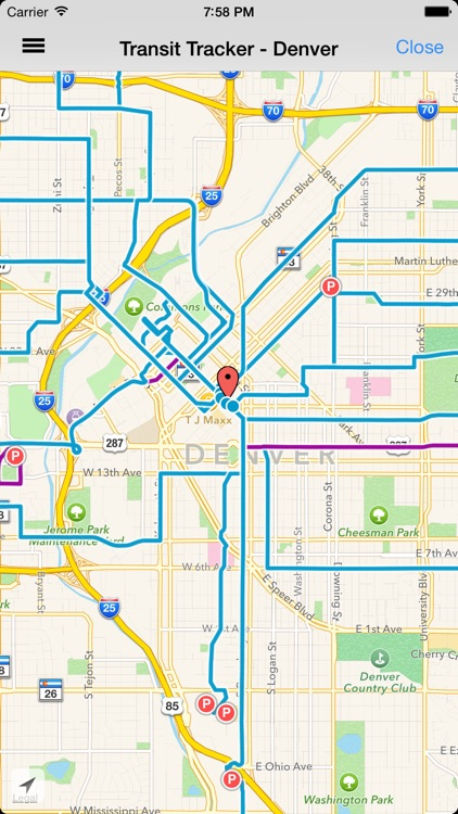Transit Tracker - Denver screenshot-2