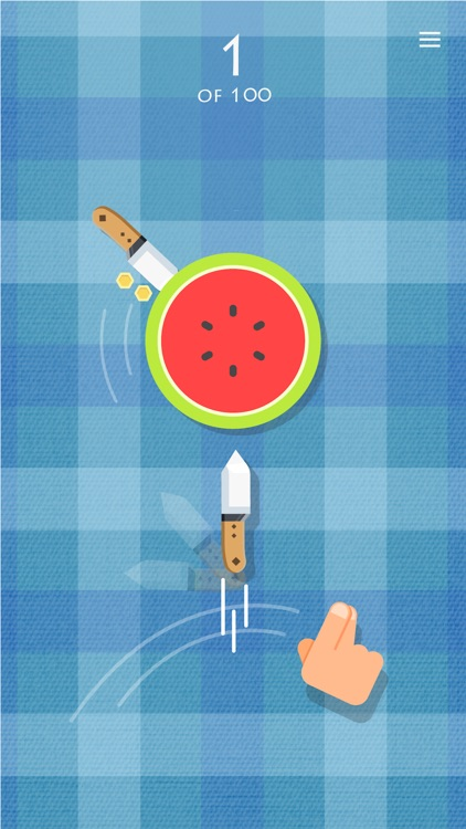 Knife vs Fruit