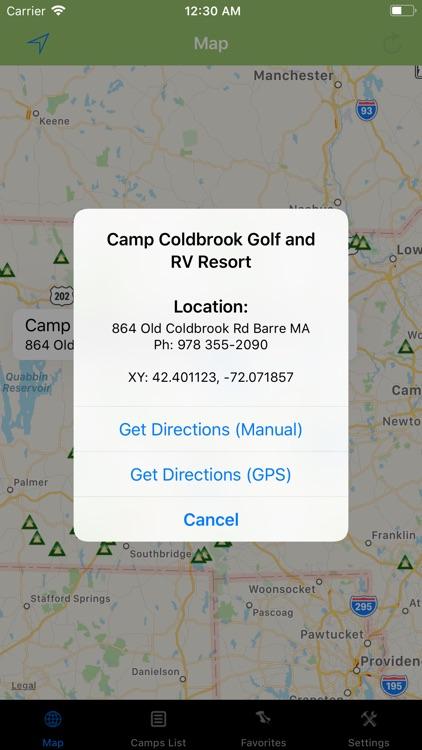 Massachusetts – Camping & RV's