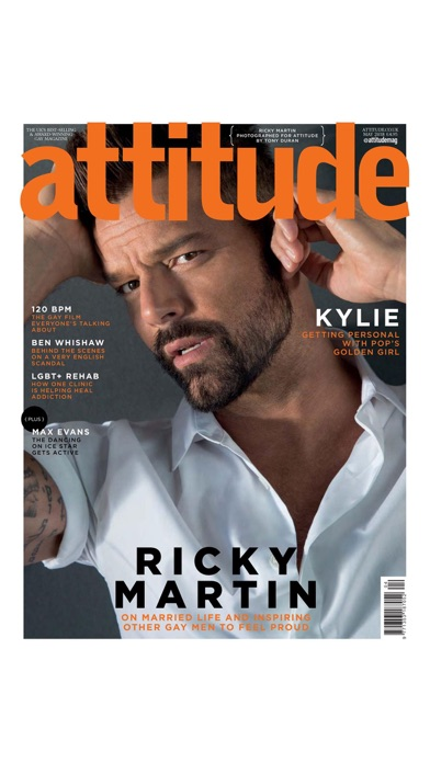 Attitude Magazine review screenshots