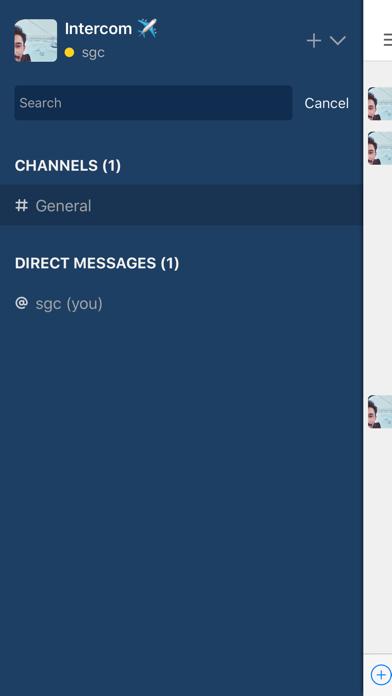 Intercom screenshot one