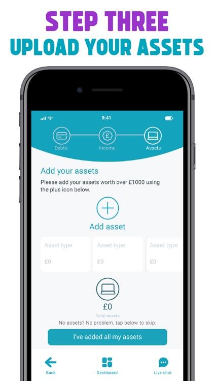 Freeze Debt: Solution & Advice screenshot-5