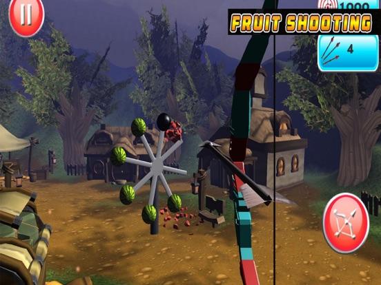 iPad Image of Archery Shooting Fruit
