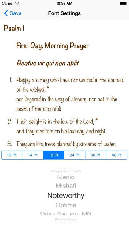 Psalter screenshot-4