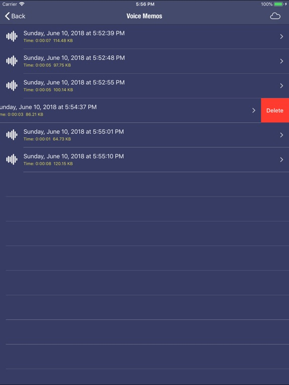 My Sound Recorder Screenshots
