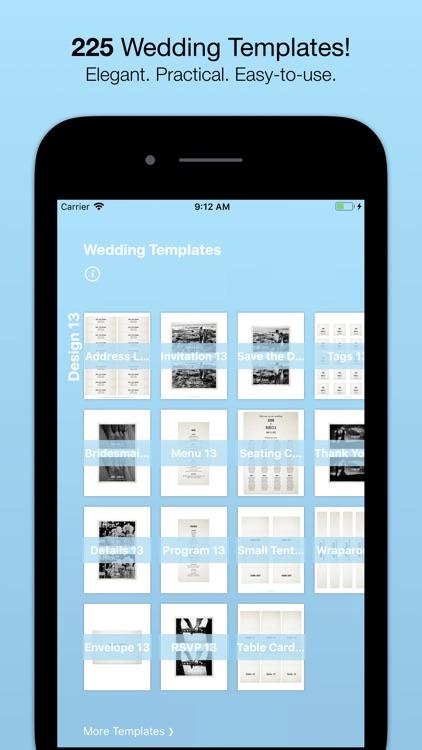 Wedding Templates (by Nobody)