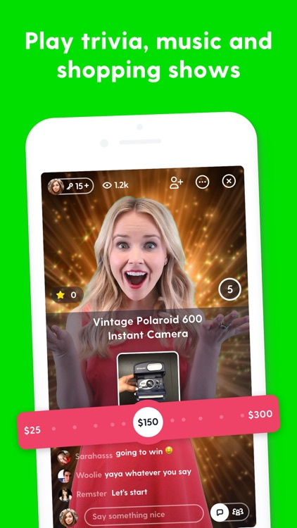 Joyride: live game shows screenshot-4