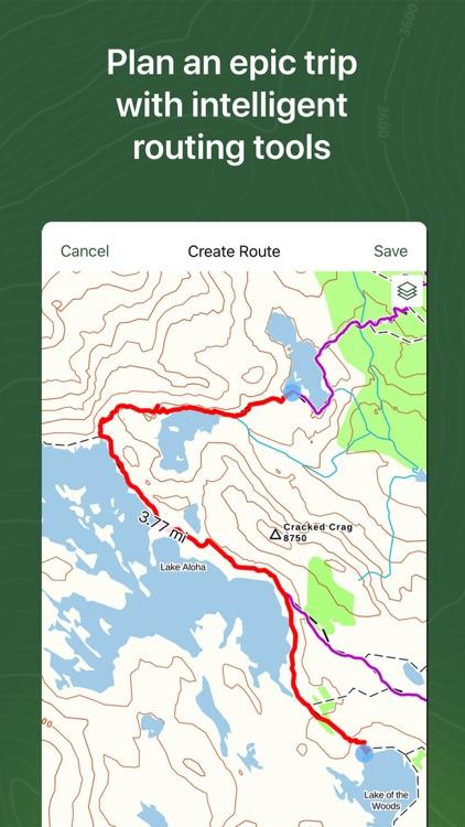 Gaia GPS Hiking, Offroad Maps screenshot-3