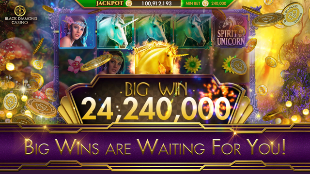 SLOTS - Black Diamond Casino Screenshot