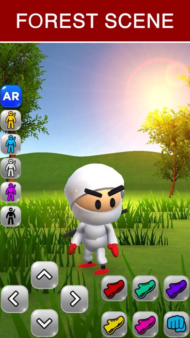 Ninja Kid AR: Augmented Action Screenshot 4
