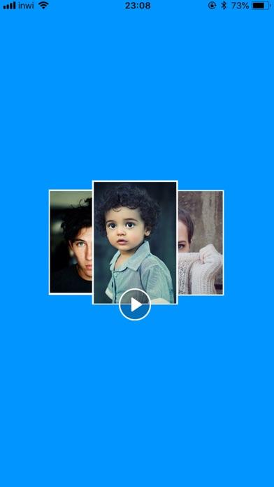 تحويل صور إلى فيديو مع أغنيتك screenshot 1