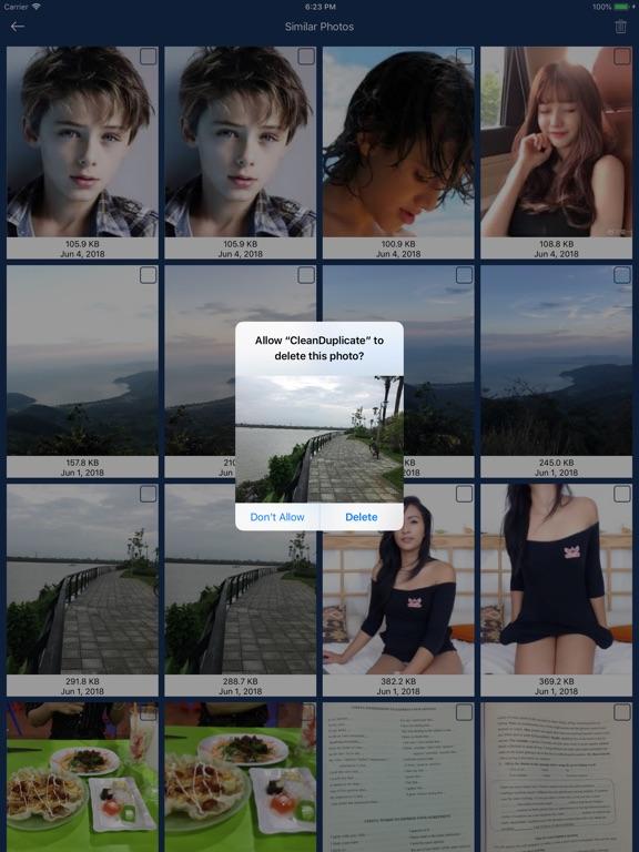 Cleaner: clean duplicate items Screenshots