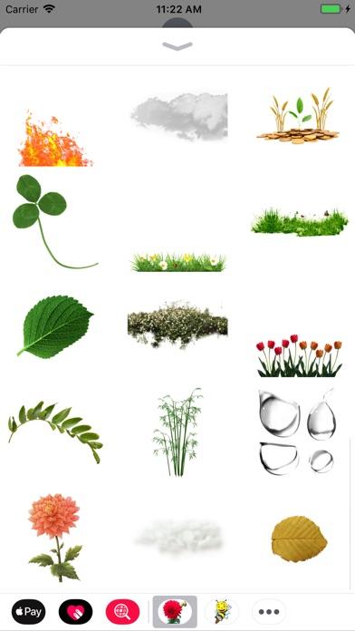 Fun Nature Stickers screenshot 2