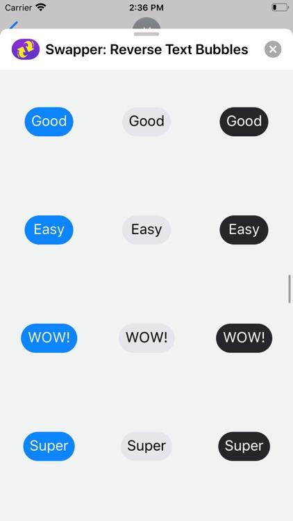 Swapper: Reverse Text Bubbles screenshot-6