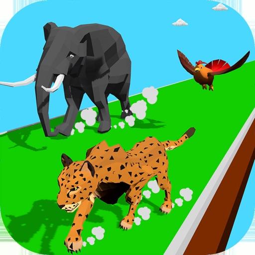Animal Transform:Epic Race 3D icon