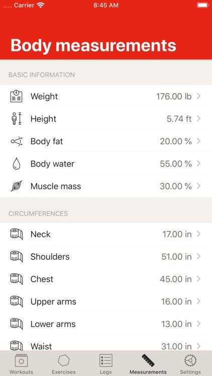 GymBook - Strength training screenshot-8