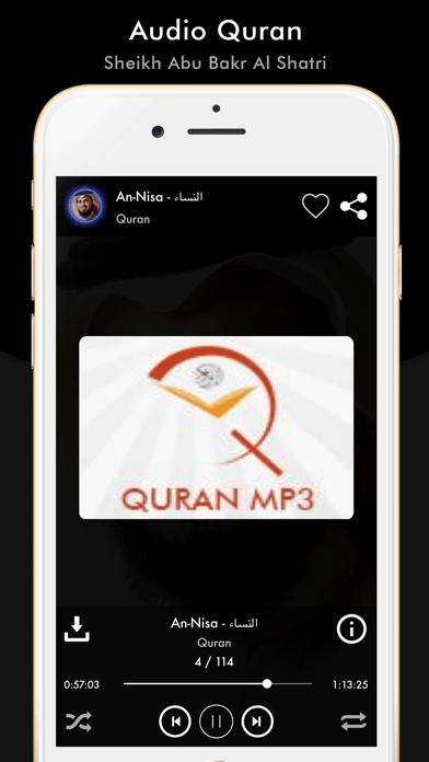 Quran Sheikh Abu Bakr Al Shatr screenshot two