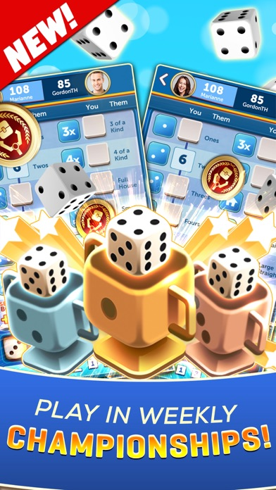 Dice With Buddies: Social Game Скриншоты10
