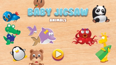 Baby Animal Jigsaw Puzzles screenshot one