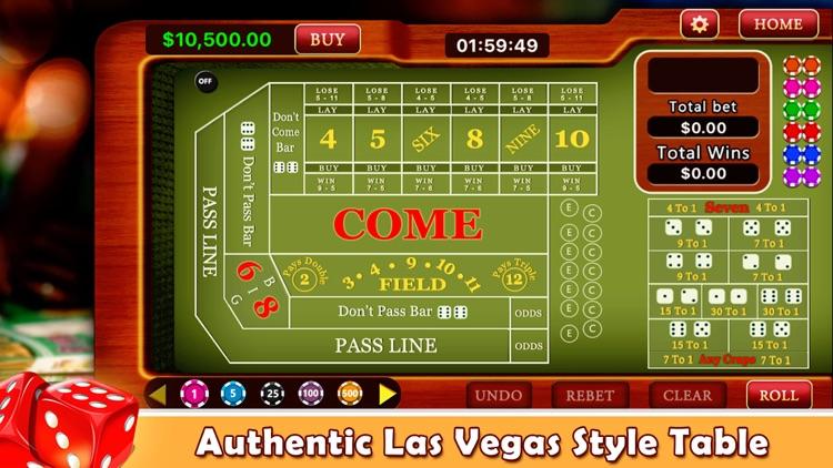 Craps - Casino Style!
