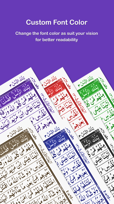 HOLY QURAN - القرآن الكريم screenshot two