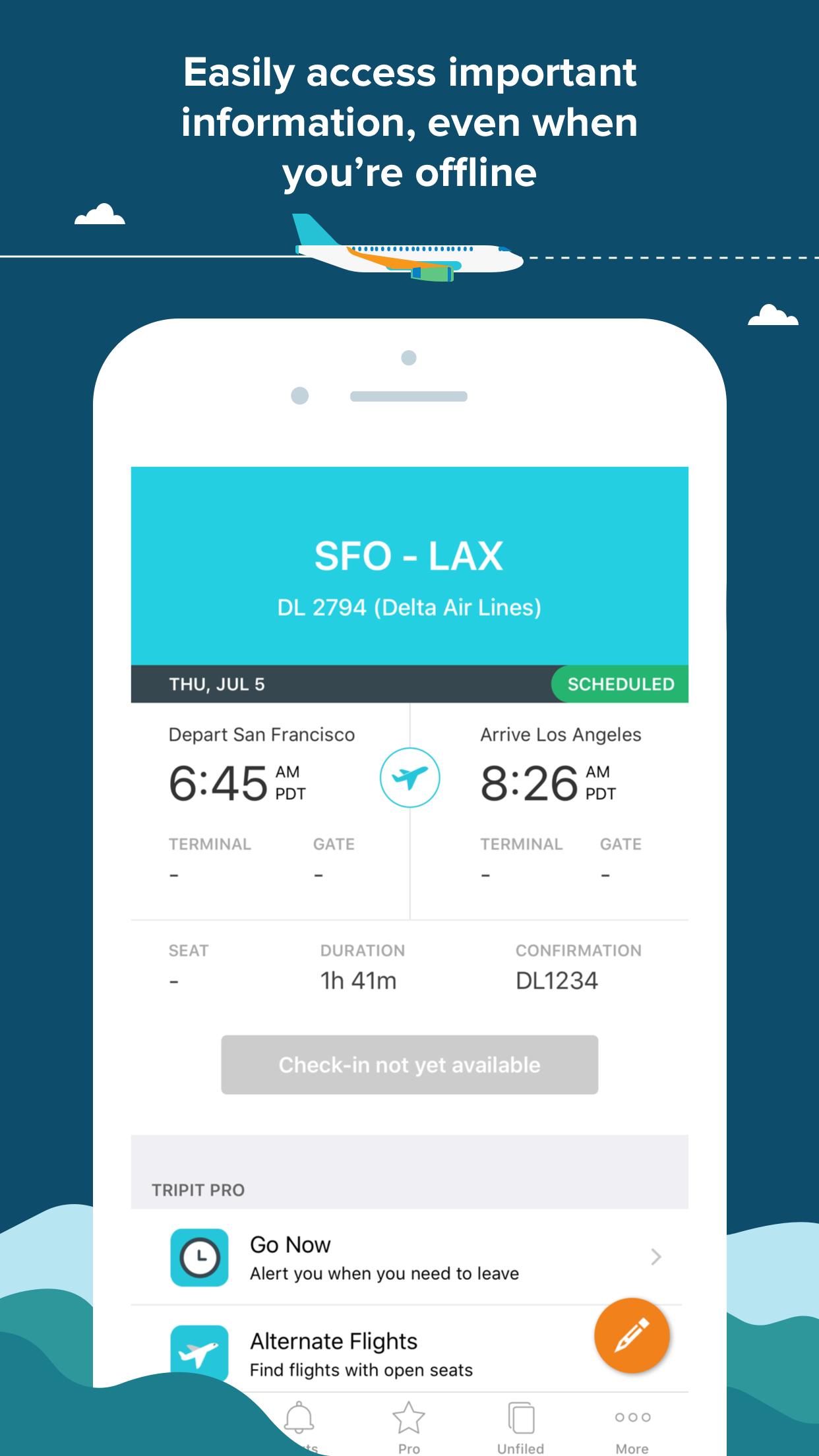 TripIt: Organize Travel Plans Screenshot