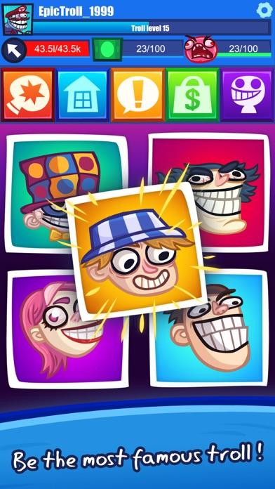 Troll Face Clicker Quest screenshot 5