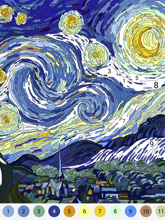Happy Color™ – 数字で塗り絵。数字で色ぬりえのおすすめ画像6