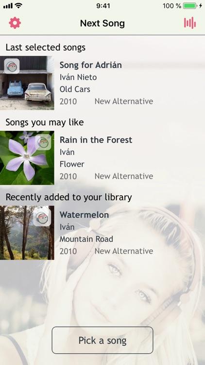 Next Song Music Player screenshot-0