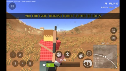 Screenshot 1 THE DUST: PIXEL SURVIVAL
