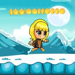 Baby Princess Run Ice Frozen