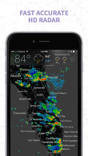 Satellite Weather Map Us.Myradar Noaa Weather Radar On The App Store